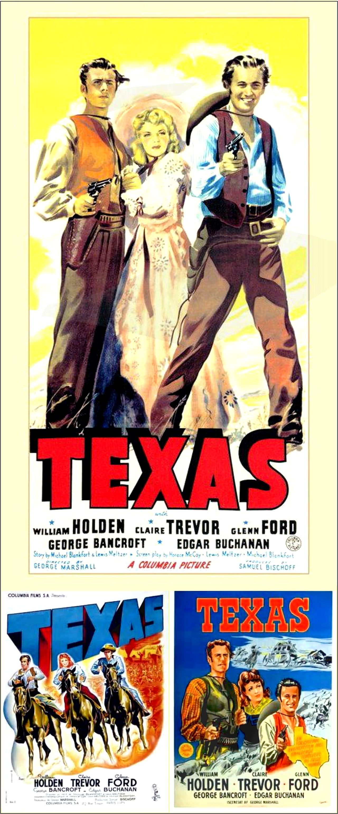 Texas GLENN FORD William Holden