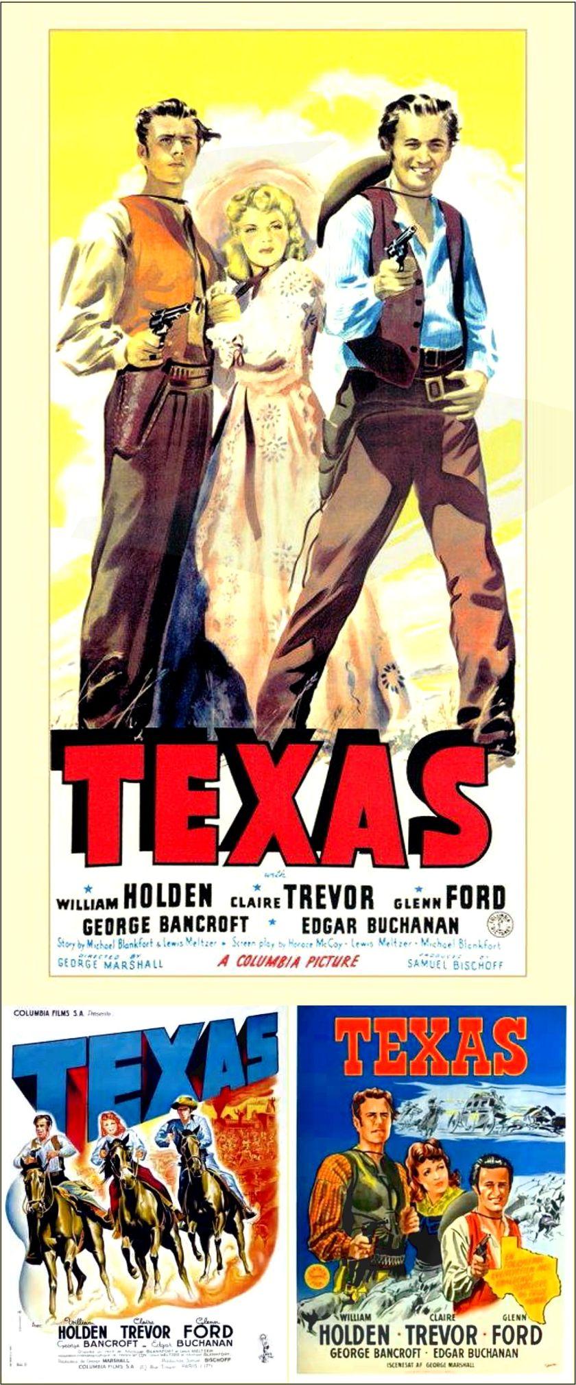 Texas GLENN FORD William Holden