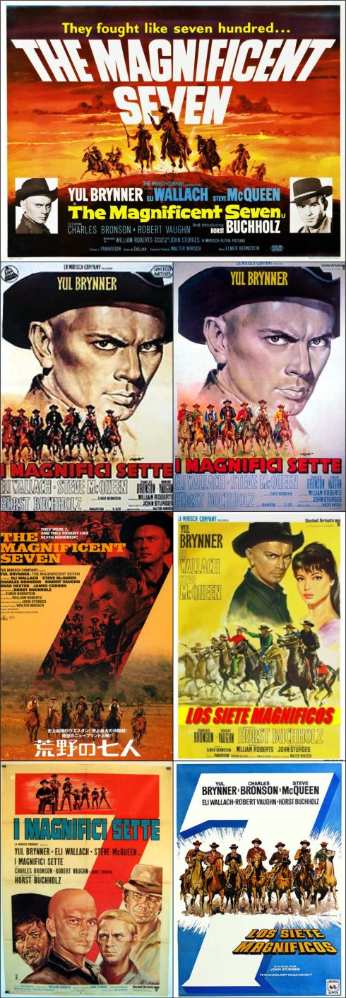 magnificent seven posters