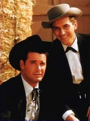 James Garner and Jack Kelly