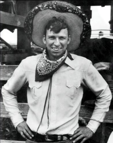 Young Slim Pickens