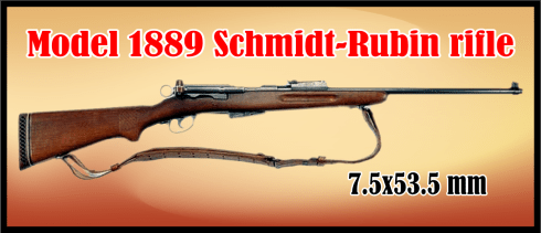 Streets of laredo  Model 1889 Schmidt-Rubin rifle