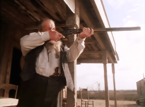 Streets of Laredo Ned Beatty with Winchester 73' 2
