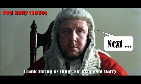 Frank Thring in Ned Kelly 1970
