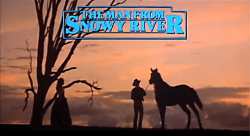 The Man from Snowy River banner