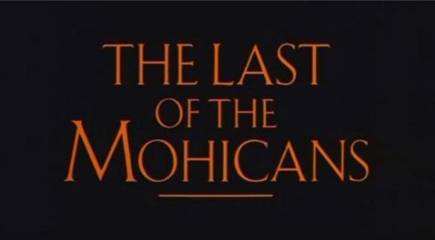 The Last of the Mohicans title banner 1