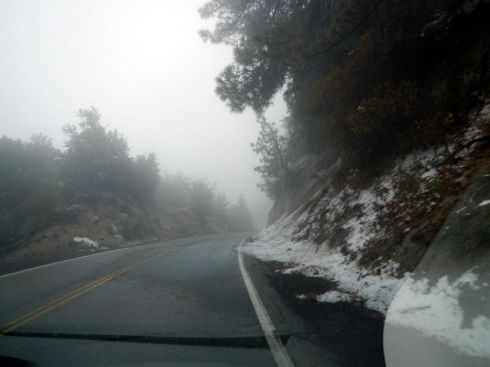 Road from Idyllwild