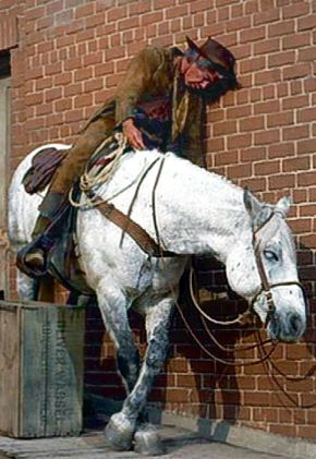 Cat Ballou - Lee Marvin and Steed