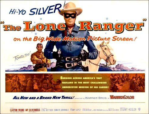 The Lone Ranger Poster 2