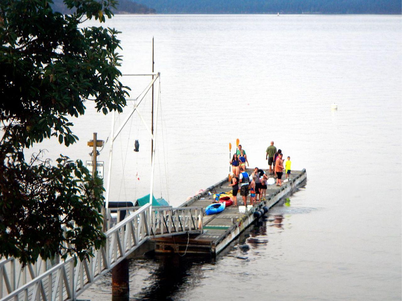 Busy dock