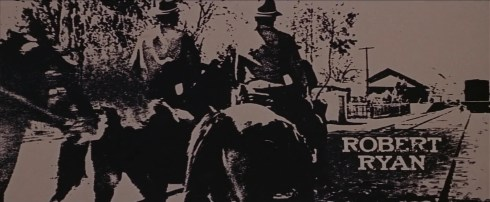 The Wild Bunch Corel screen 3 opening credits