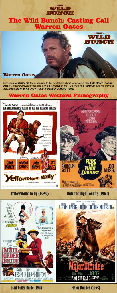 The Wild Bunch - The Cast - Warren Oates 1