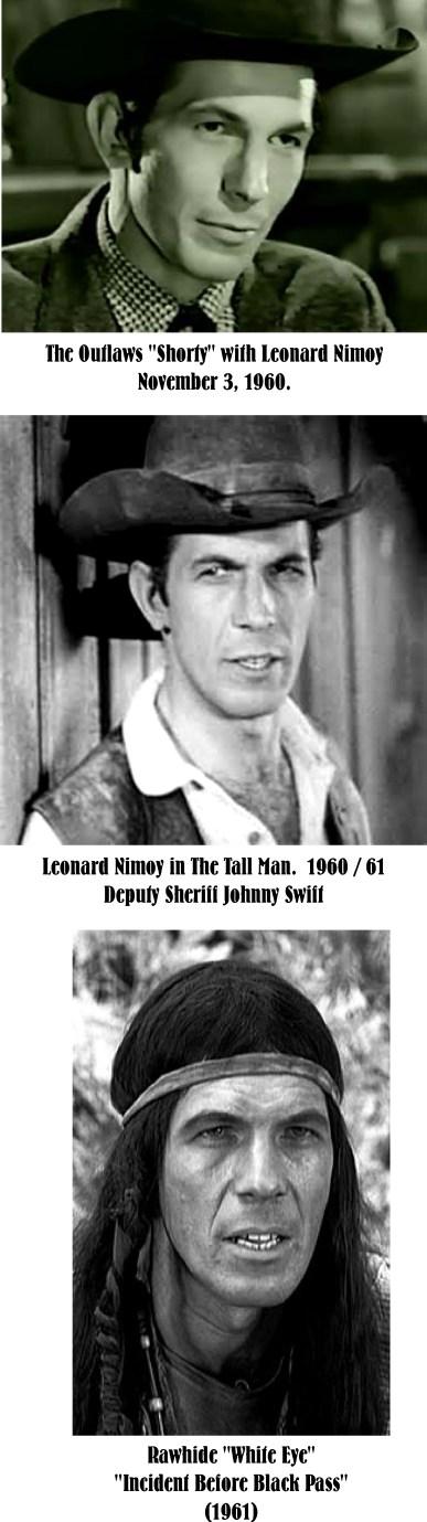 Leonard Nimoy tv westerns