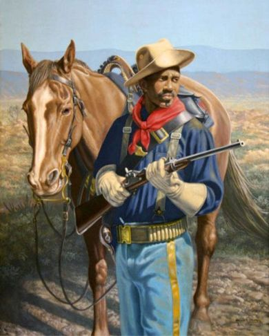 Buffalo Soldier by Michael Gnatek