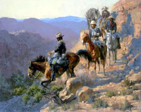 BUFFALO SOLDIERS - artist unknown to me