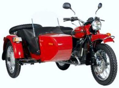 Chris' Ural Sidecar Motorcycle