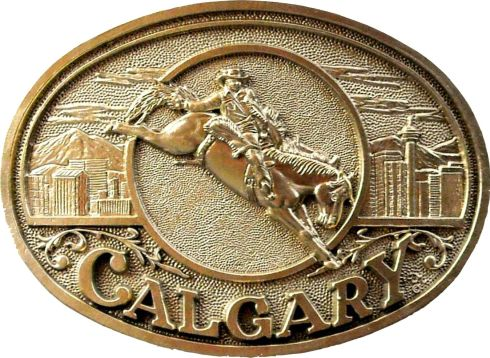 Calgary Stampede 2015 buckle