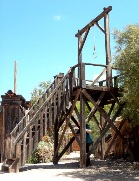 Old Tucson Studios gallows