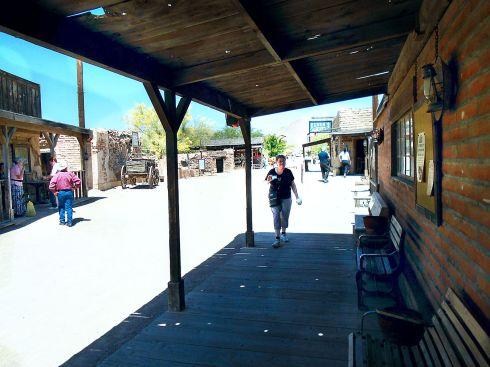 Old Tucson Studios main street