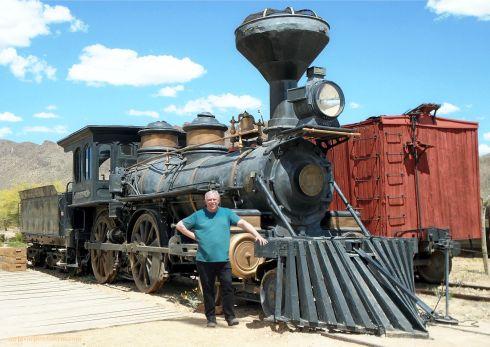 Old Tucson Studios Real Train