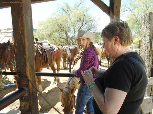 Old Tucson Studios  Trail Ride