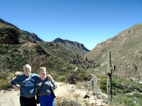 Sabino Canyon the road back