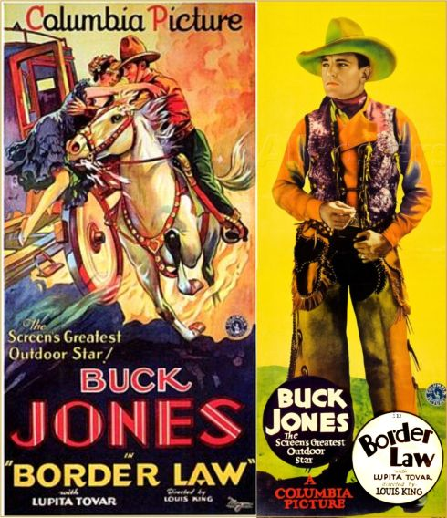 Border Law buck jones 1930