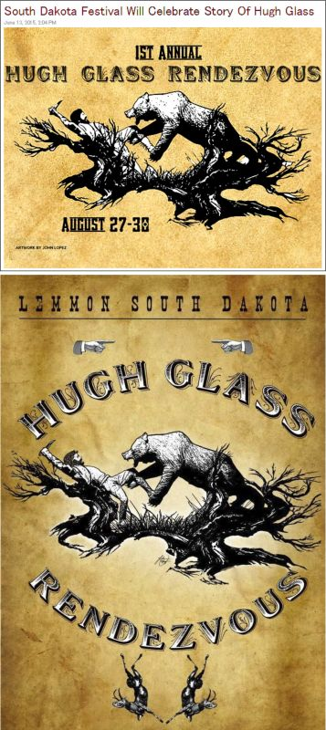 Hugh Glass Celebration ... Lemon, South Dakota