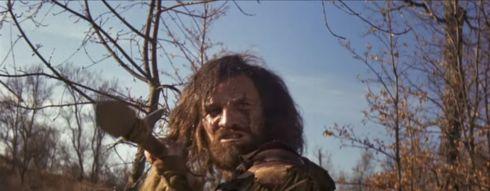 MAN IN THE WILDERNESS harpoon