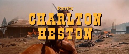 Major Dundee Charleton Heston