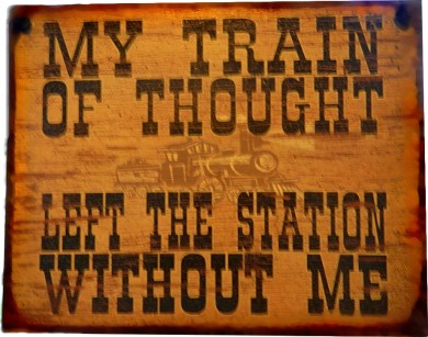 My Train of Thot