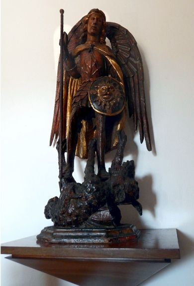 Columbus House statue