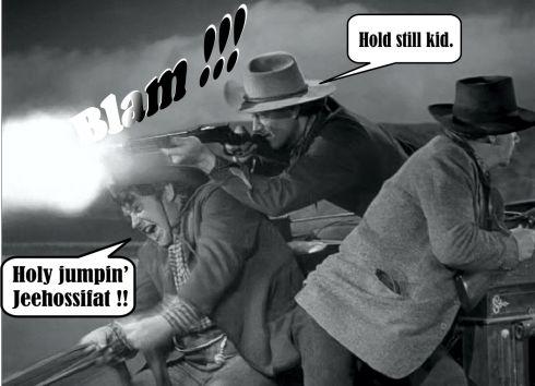 STAGECOACH John shootin'