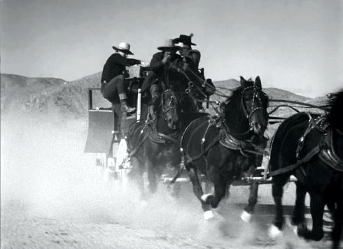 STAGECOACH roof stunt