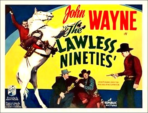 The Lawless Ninties 1936 lobby card