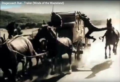 Stagecoach Run Yakima Canutt stunt 4