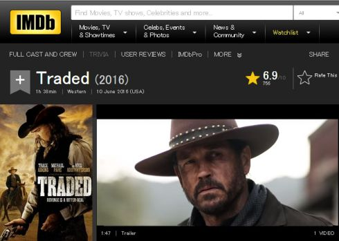 Traded IMDB review