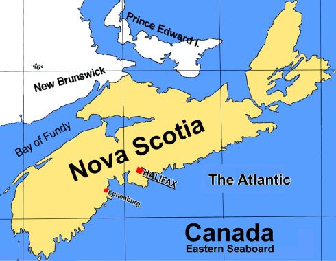Map Nova Scotia 2