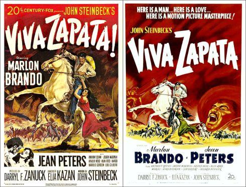 Viva Zapata posters 1