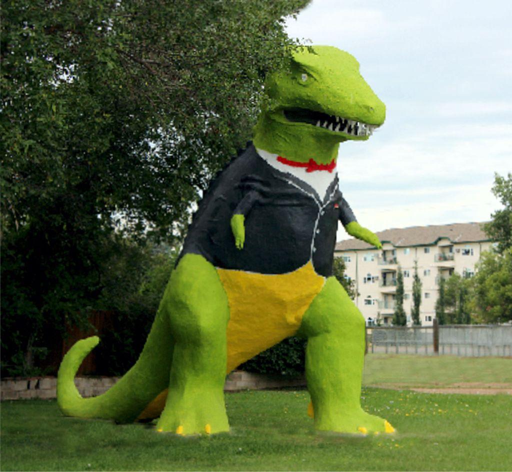 Tackysaurus Rex