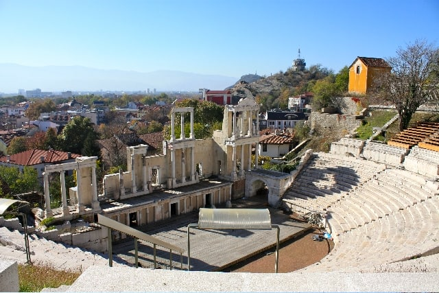 Sightseeing Plovdiv Ancient Theatre 02