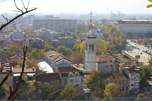 Sightseeing Plovdiv - hill view 02