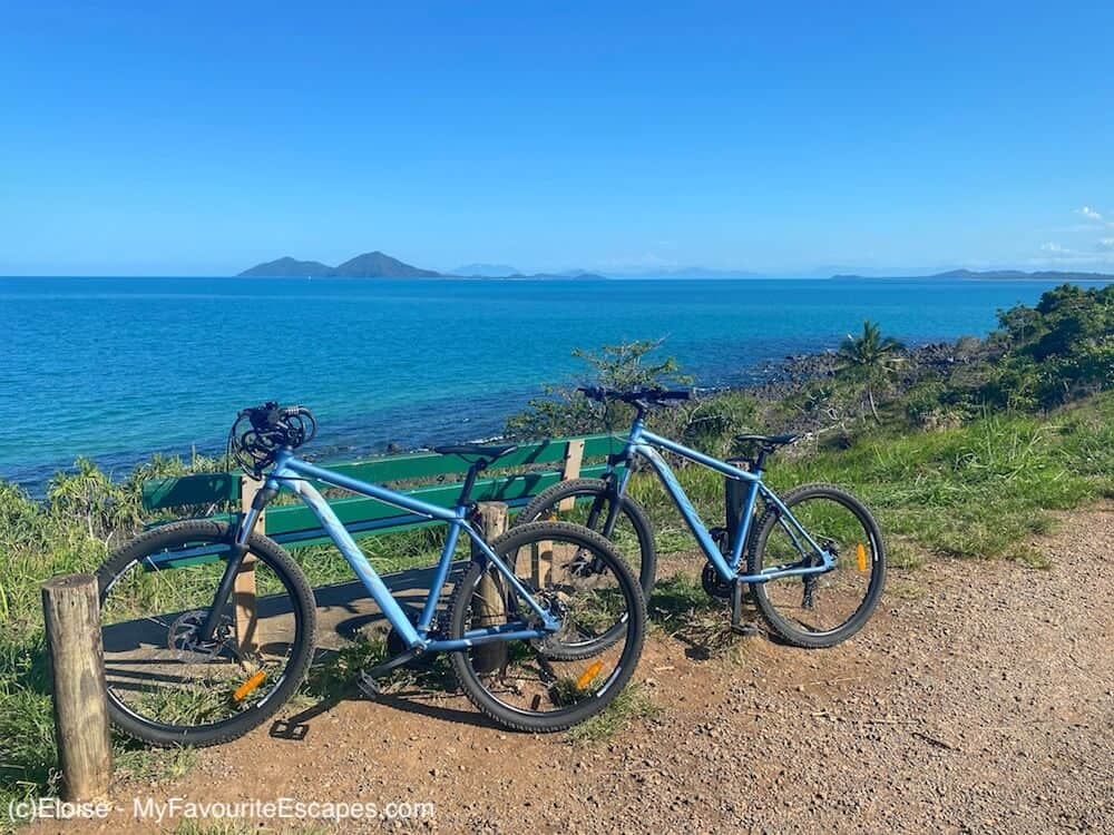 Bikes at Clump Point - Mission Beach