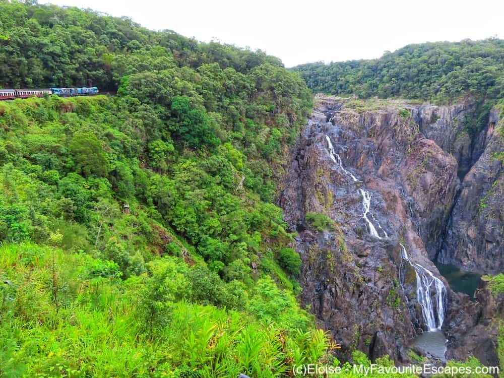 Barron Falls on Cairns Waterfall Circuit itinerary