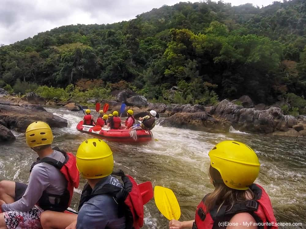 Whitewater rafting in Cairns