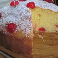 Cherry Genoa Cake