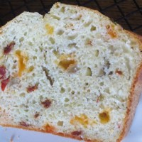 Olive Sun-dried Tomato and Cheddar Bread
