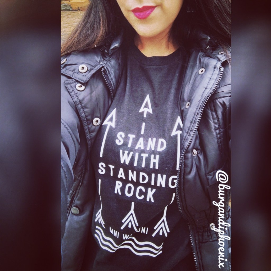 I STAND WITH STANDING ROCK! T-Shirt @Omaze <3