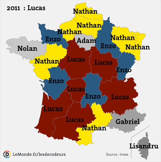 Here are the most popular names for French babies | My