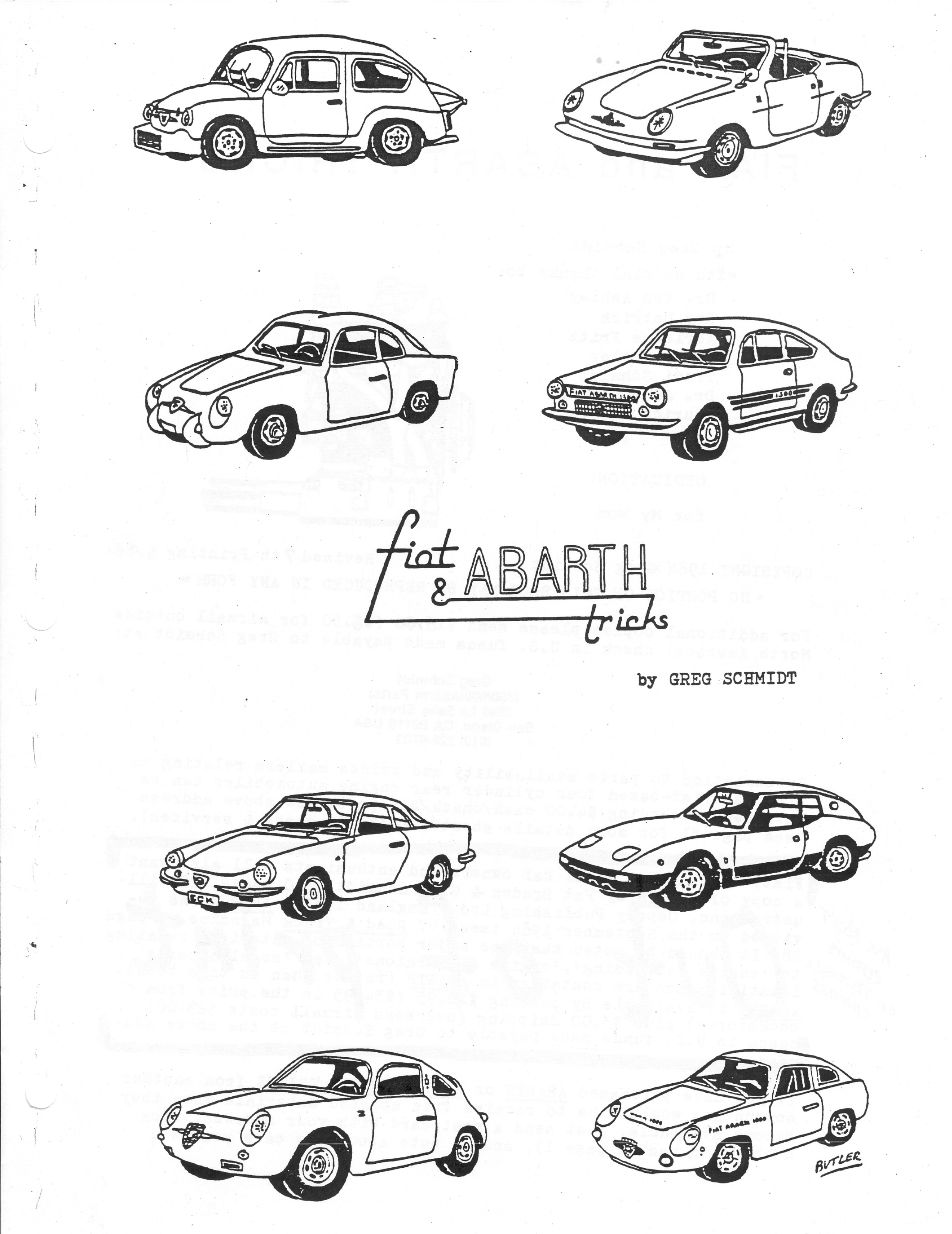 Fiat Amp Abarth Books And Literature